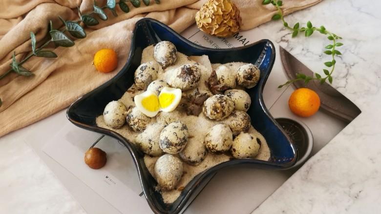 盐焗鹌鹑蛋,凉凉即食