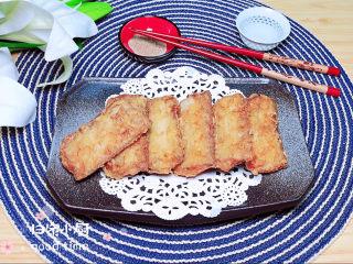 炸酥帶魚,配上一些椒鹽,看著電視吃著帶魚,簡直就是一種幸福!