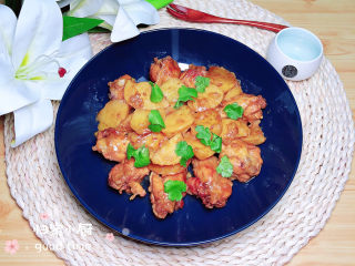 紅燒土豆雞塊
