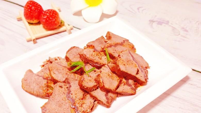 五香酱牛肉,成品图