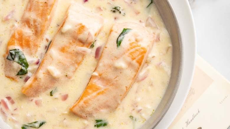 白露柠香三文鱼,给生活添些情调!,口感鲜嫩,味道清新,你学会了吗?