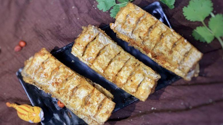炸酥带鱼,出锅