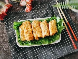 炸酥带鱼,装盘即食 香酥美味