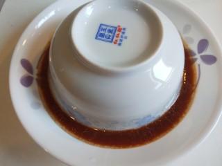 豆鼓蒸排骨,翻过来取下碗即可食用了。