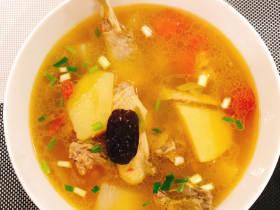 冬日暖身鸡汤