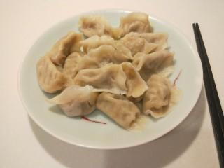 香菇虾仁饺子,香菇虾仁饺子。