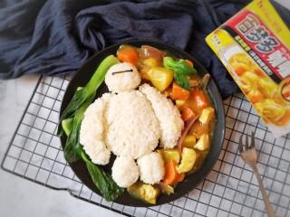 咖喱雞肉土豆,成品。