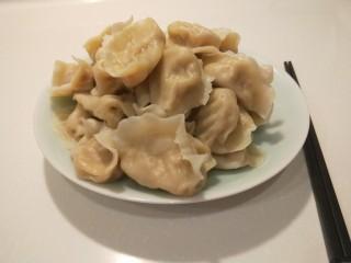 羊肉胡萝卜水饺,羊肉胡萝卜饺子。