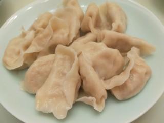羊肉胡萝卜水饺,成品图