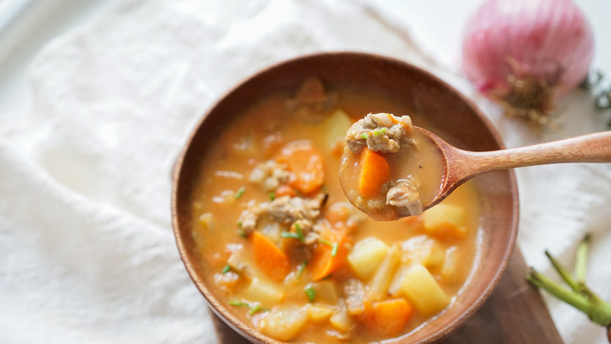 12个月以上番茄土豆牛肉汤