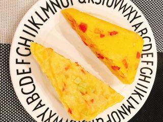 快手早餐——土豆番茄蒸糕,摆盘即可✅