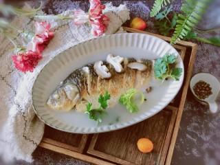 香菇鲫鱼汤,美味的滋补汤