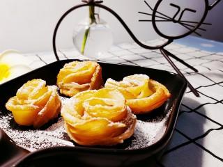 玫瑰苹果饼,看着是不是很诱人