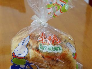 香葱肉松手撕面包,包装起来,当早餐妥妥滴!