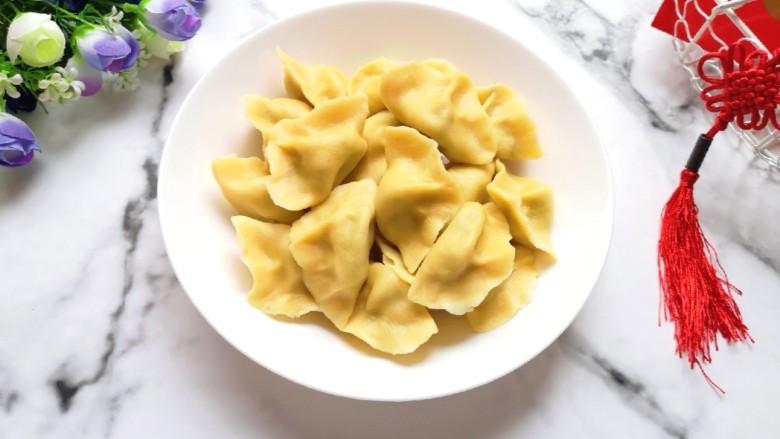 香菇虾仁饺子
