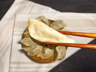 香菇虾仁饺子,蒸10分钟