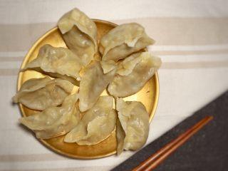 香菇虾仁饺子,上锅蒸