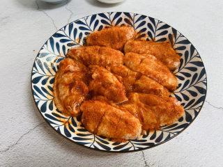 香酥炸鸡翅,腌制四小时或是放入冰箱过夜