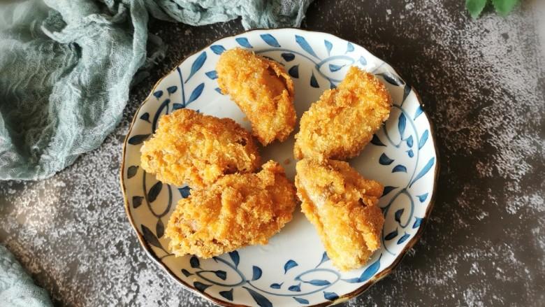 香酥炸鸡翅,凉凉 食用