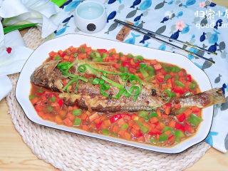 酱焖黄花鱼,补充各种营养哟,吃起来吧!