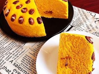 南瓜蒸糕,非常完美