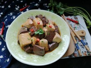 鸭血烧豆腐