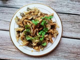 孜然蘑菇,美味孜然蘑菇完成