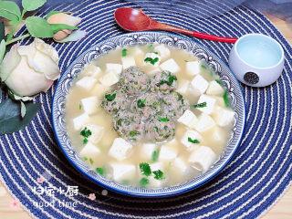 豆腐丸子汤,再来一张成品图。
