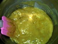 蔓越莓牛奶糖,继续搅拌至颜色变成浅咖啡色,液体浓稠,离火
