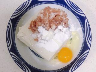 豆腐丸子汤,一个鸡蛋