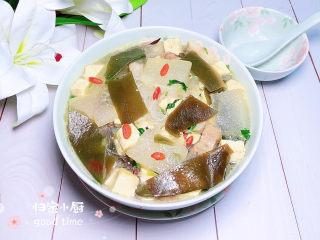 海帶冬瓜湯,冬天來一碗鮮美可口無比。