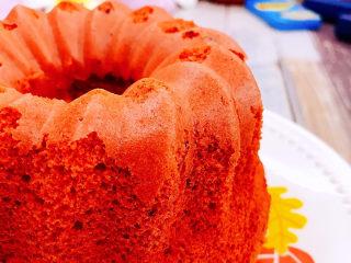 红丝绒蛋糕,成品图