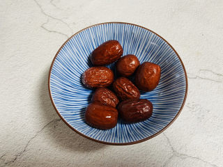 黑米红豆粥,红枣