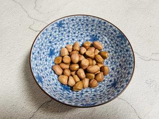 黑米红豆粥,花生