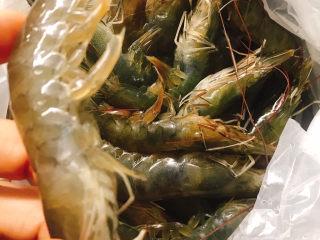 花开富贵椒盐虾,新鲜的虾买回家
