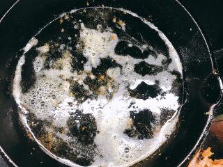 花开富贵椒盐虾,剩下的油
