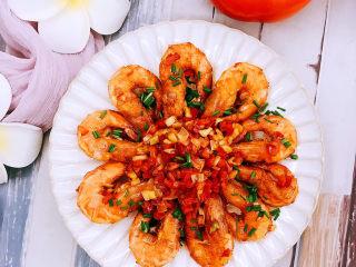 花开富贵椒盐虾