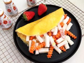 鸡蛋炒年糕