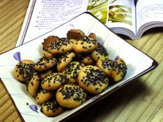 芝麻蛋香饼
