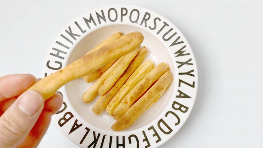 宝宝辅食小零食:胡萝山药磨牙棒