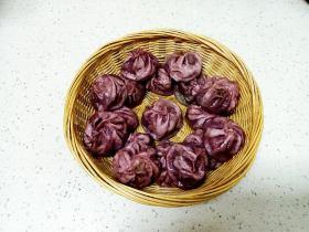 紫薯、羊肉、韭菜小籠包