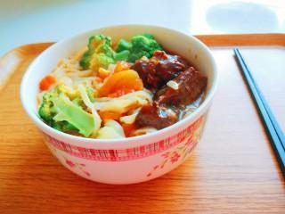 番茄牛腩面,我的一碗面,给别人炒莜面吃。