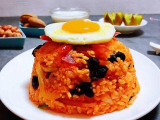 韩式泡菜炒饭,普通的食材用心去做就好有意想不到的惊喜