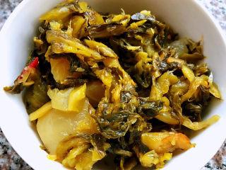 老壇酸菜牛肉面,在超市買到的袋裝老壇酸菜味道很不錯??