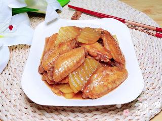 薯片鸡翅,一盘色香味俱全的薯片鸡翅就做好了!