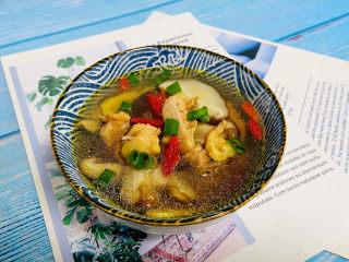 猴头菇鸡汤,营养丰富