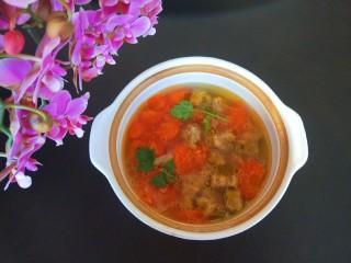 牛腩萝卜汤,成品图