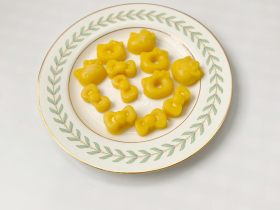 宝宝辅食:砂糖橘qq糖 藕粉版(简单)