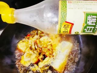 红烧糖醋带鱼,加入1勺白醋