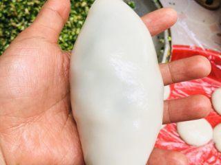 客家小吃:蒜苗粿(葫粄)➕菜头粄,像梭子一样